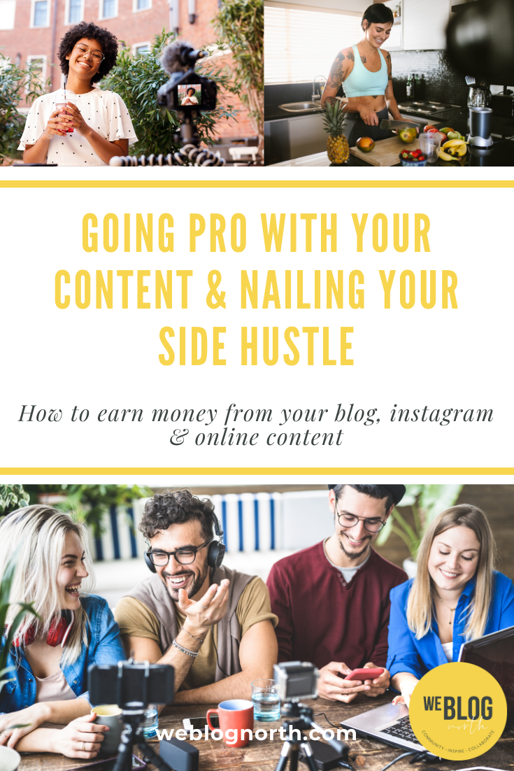 Going Pro with Your Content Webinar Course